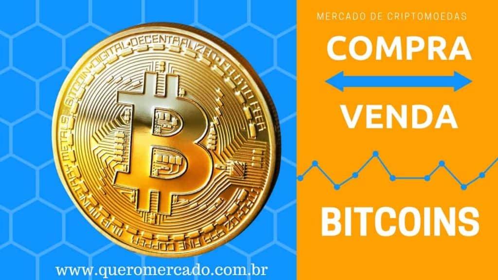Mercado de Compra e venda de Bitcoin